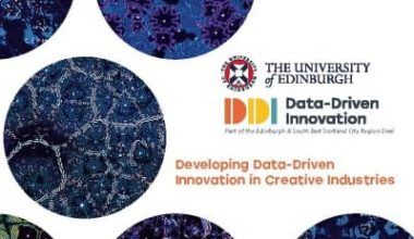 Developing data driven innovation in creative industries whitepaper front cover