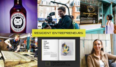 Snapshots of Edinburgh for resident enterpreneurs