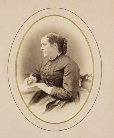 Portrait of Sophia Jex-Blake