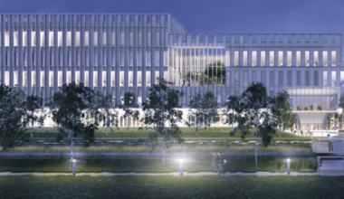 Usher Institute new building design