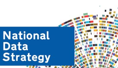 UK National Data Strategy report cover