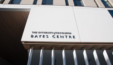photo of the Bayes Centre