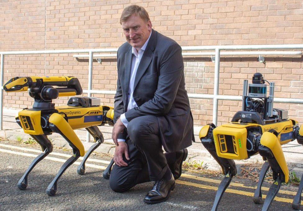 image of Stewart Miller, CEO of the National Robotarium